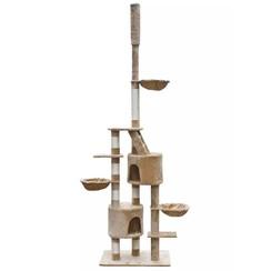 Kattenkrabpaal Luna XL 230/260 cm (beige)
