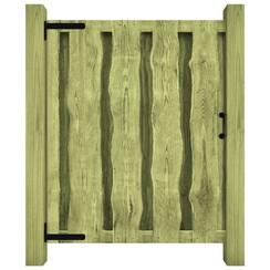 Poort 100x125 cm geïmpregneerd grenenhout groen