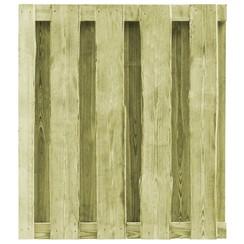 Poort 100x100 cm geïmpregneerd grenenhout groen