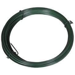 Hekbinddraad 25 m 1,4/2 mm staal groen