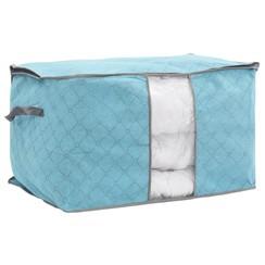 Opbergtas voor dekbed opvouwbaar 60x42x36 cm blauw