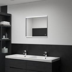 Badkamerspiegel LED met aanraaksensor 60x50 cm
