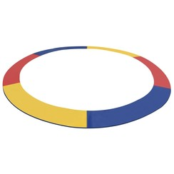 Veiligheidsmat voor 3,96 m ronde trampoline PVC meerkleurig