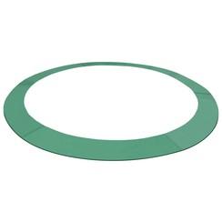 Veiligheidsmat voor 3,96 m ronde trampoline PE groen