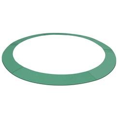 Veiligheidsmat voor 3,05 m ronde trampoline PE groen