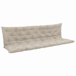 Kussen voor schommelstoel 200 cm stof crème