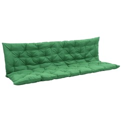 Kussen voor schommelstoel 180 cm groen