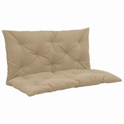 Kussen voor schommelstoel 100 cm stof beige