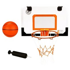 mini basketbalbord met ring, bal, pomp 16NA