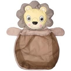 B-Bath Opbergnet voor speelgoed leeuw bruin B900300