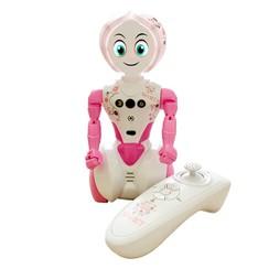 Robot Suki Bot radiografisch bestuurbaar roze