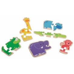 Puzzels Happy Animal 18011