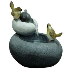 Tuinfontein vogels op dubbele steen S 850845