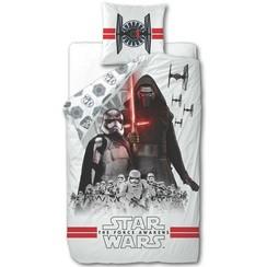 Kinderdekbedovertrek Star Wars wit 200x140 cm DEKB930119