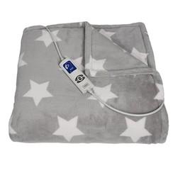 Elektrische deken 180x130 cm grijs 99343