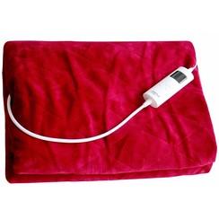 Elektrische deken 180x130 cm rood 804.081