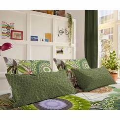 Kussensloop 6113-H Bodhini 40x80 cm groen