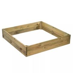 Plantenbak voor groenten vierkant 6020511