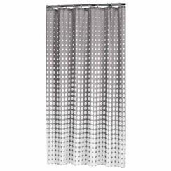 Douchegordijn Speckles 180 cm grijs 233601314