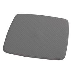 Douchemat anti-slip Capri 54x54 cm cementgrijs