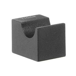 handdoekhaak Nomad 2 x 3 cm zwart 249530746