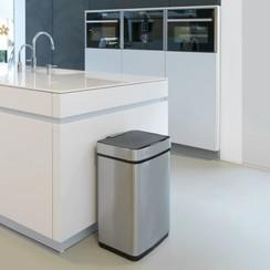 Sensor vuilnisbak 50 L roestvrij staal 99359