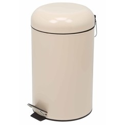 Pedaalemmer rond 12 L crème HP100103