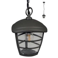 Hanglamp voor buiten Brussels 230 V antraciet LUX1605Z