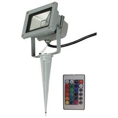 LED-breedstraler voor tuin Ceres met afstandsbediening 230 V