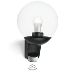 L585 sensorbuitenlamp zwart