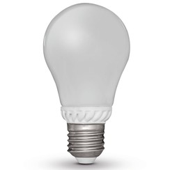 peervormige led-lamp 9W E27 230V 2700K (4 stuks)