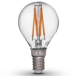 set van 4 LED lampen E14 230 V 2200K
