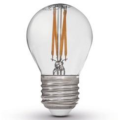 set van 4 Led lampen E27 230V 2700K