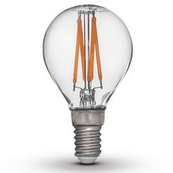 set van 4 Led lampen E27 230V