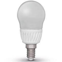 peervormige led-lamp E14 230V 5W G45 (4 stuks / EWW)