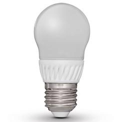 peervormige led-lamp E27 230V 3W G45 (4 stuks)