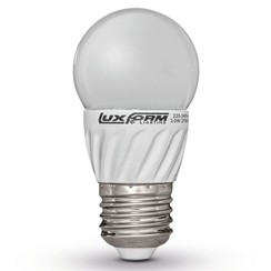 set van 4 LED lampen E27 230 V 3W G45