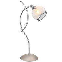 Tafellamp AILA chroom en nikkel mat 56568-1T