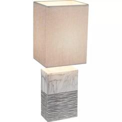 Tafellamp JEREMY keramiek 20x14x51 cm 21643T1