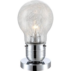 LED-tafellamp FELIX glas chroom 15039T