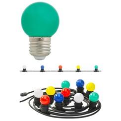 Feestverlichting met 20 LED's gekleurd 20 W LUX09932