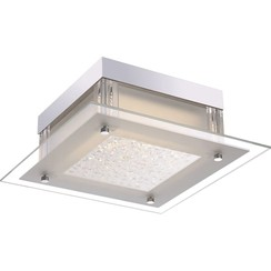 LED-plafondlamp LEAH glas 49310