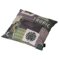 Kussen Tropic 50x50 cm groen