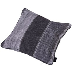 Kussen Denim Stripe 50x50 cm grijs PI16F364