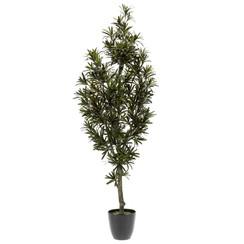 Kunstplant podocarpus plant groen 120 cm 420295