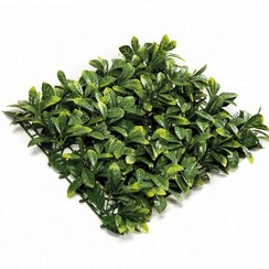 Kunstplant prunus grasmat groen 50x50 cm 4 st 417981