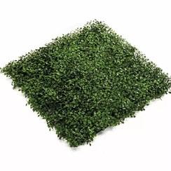 Kunstplant buxus grasmat groen 50x50 cm 4 st 417980