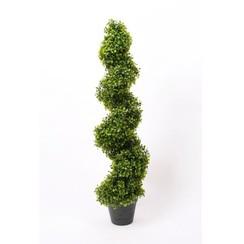 Kunstplant buxus spiraal groen 95 cm 2 st 17.171C