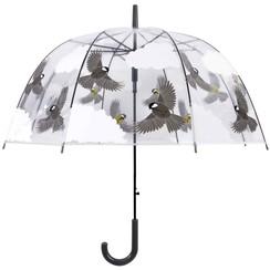 Paraplu vogels tweezijdig 81 cm TP274