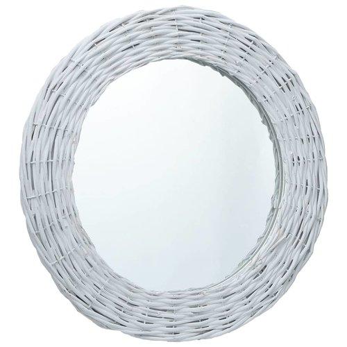 vidaXL Spiegels 3 st 15 cm wicker wit